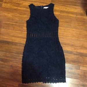 AMAZING NAVY BLUE DRESS FROM FRANCESCA'S